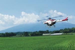 農薬散布用ヘリコプター